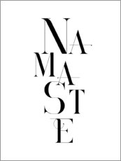Póster  Namaste - Andrea Haase