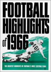 Póster  Football Highlights 1966 - Advertising Collection