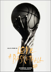 Lienzo  Love & Basketball (baloncesto) - Advertising Collection