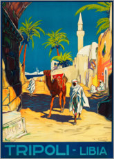 Póster  Tripoli, Libia - Travel Collection