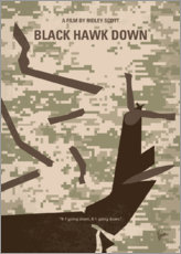 Póster  Black Hawk Down - chungkong