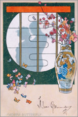 Póster Madame Butterfly III