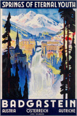 Póster  Bad Gastein (Inglés) - Travel Collection