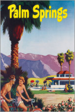 Póster  Palm Springs - Travel Collection