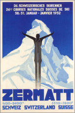 Póster  Zermatt - Travel Collection