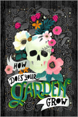 Vinilo para la pared How Does Your Garden Grow