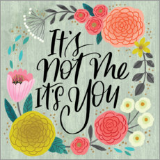 Póster  It's Not Me, It's You - Cynthia Frenette