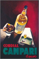 Lienzo  Cordial Campari - Advertising Collection