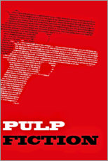 Póster Pulp Fiction (Inglés)