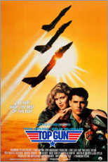 Cuadro de aluminio  Top Gun (inglés) - Entertainment Collection