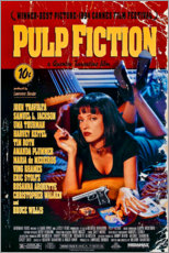 Cuadro de aluminio  Pulp Fiction (inglés) - Entertainment Collection
