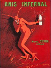 Póster  Anis Infernal - Leonetto Cappiello