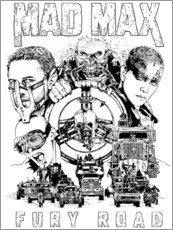 Póster Mad Max: Fury Road