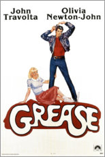 Póster Grease