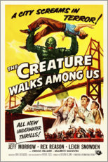 Póster The Creature Walks Among Us