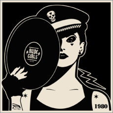 Póster Rude Girls Records I