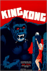 Póster  King Kong - Entertainment Collection