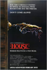 Póster  House - Entertainment Collection