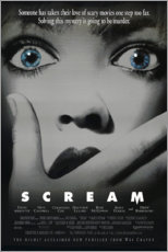 Póster Scream (inglés)