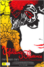 Cuadro de madera  Unfolding Florence: The Many Lives of Florence Broadhurst - Entertainment Collection