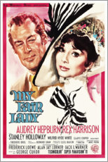 Póster My Fair Lady (inglés)