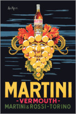 Lienzo  Cartel publicitario de Martini - Advertising Collection