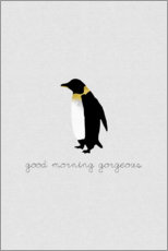 Póster Good morning gorgeous