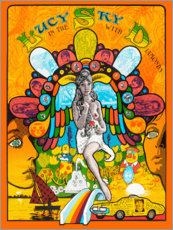 Póster  Lucy In the sky with diamonds - Entertainment Collection