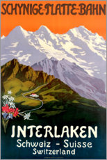 Lienzo  Interlaken - Travel Collection