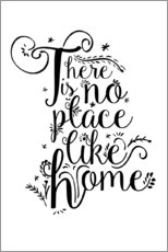 Póster There is no place like home