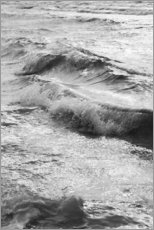 Póster Shore in black and white