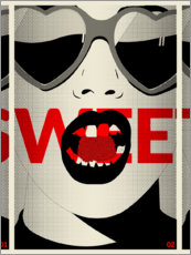 Póster  Sweet - dolceQ