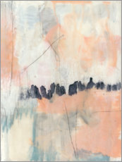 Vinilo para la pared  Blush & Navy II - Jennifer Goldberger
