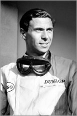 Póster Jim Clark, Lotus 33-Climax, Monza, Italy 1965