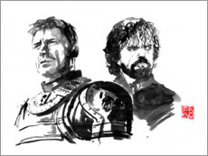 Póster Jaime y Tyrion