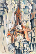 Cuadro de plexi-alu  The Eiffel Tower - Robert Delaunay