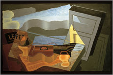 Vinilo para la pared  View of the Bay - Juan Gris