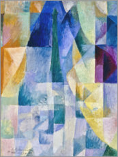 Cuadro de plexi-alu  Simultaneous Windows, 1912 - Robert Delaunay