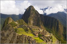 Vinilo para la pared  Machu Picchu before mountainscape - Dennis Kirkland