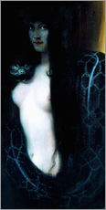Vinilo para la pared  El pecado - Franz von Stuck