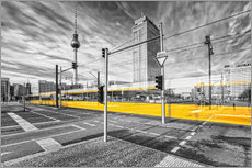 Vinilo para la pared  Alexanderplatz Berlin Colorkey - Marcus Klepper