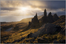 Vinilo para la pared  Scotland - Isle of Skye - Old Man of Storr - Tobias Richter