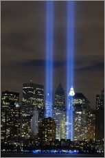 Vinilo para la pared  Tribute in Light memorial - Stocktrek Images