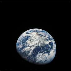 Vinilo para la pared Earth from the viewpoint of Apollo 8