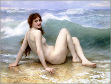 Cuadro de plexi-alu  The Wave - William Adolphe Bouguereau