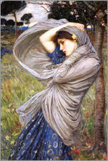 Vinilo para la pared  Bóreas - John William Waterhouse