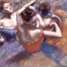 Cuadro de plexi-alu  Dancer with Raised Arms - Edgar Degas