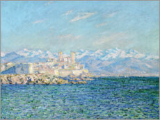 Póster  Fort en Antibes - Claude Monet