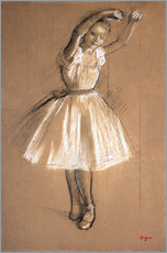 Vinilo para la pared  Small dancer - Edgar Degas