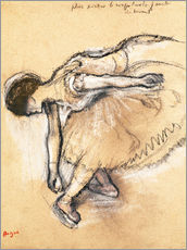 Vinilo para la pared  Dancer - Edgar Degas